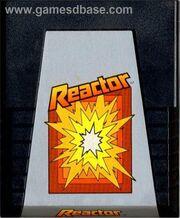 Reactor Atari 2600 Box Art