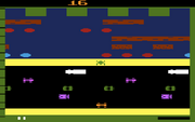 Frogger 2600 gameplay