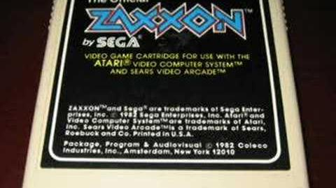 Classic Game Room - ZAXXON for Atari 2600 review