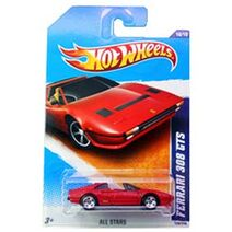 Ferrari 308 GTS Hot Wheels
