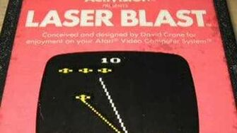 Classic Game Room - LASER BLAST for Atari 2600 review