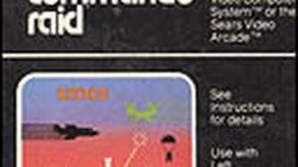 Classic Game Room HD - COMMANDO RAID for Atari 2600 review