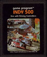 Indy 500 Cart