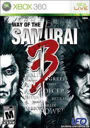 Way of the Samurai 3 Box Art