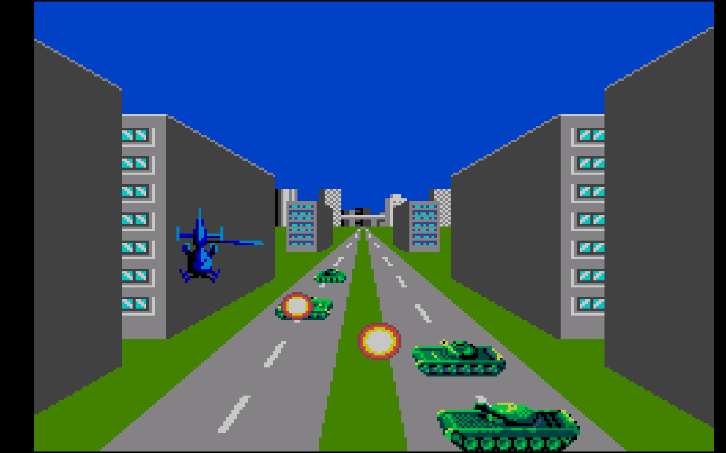 Thunder Blade (Master System) | Classic Game Room Wiki ...