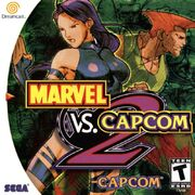 Marvel vs. Capcom 2 Cover