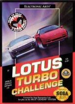 Lotus Turbo Challenge Box Art