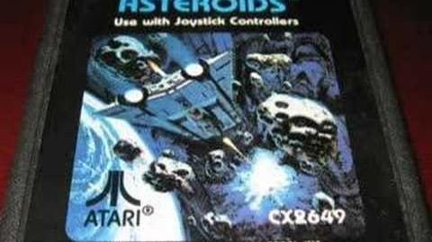 Classic Game Room - ASTEROIDS for Atari 2600 review