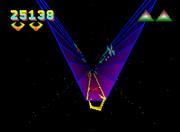 Tempest 2000 Gameplay