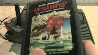 Classic Game Room HD - AIR SEA BATTLE for Atari 2600 review