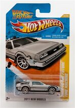 Back To The Future Time Machine DeLorean Hot Wheels
