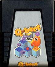 QBert Atari 2600 Cartridge