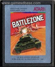 Battlezone Atari 2600 Cart