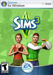The Sims 3 Box Art