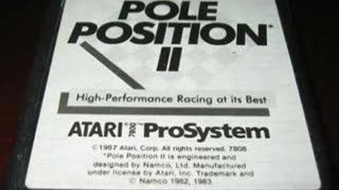 Classic Game Room - POLE POSITION II for Atari 7800 review
