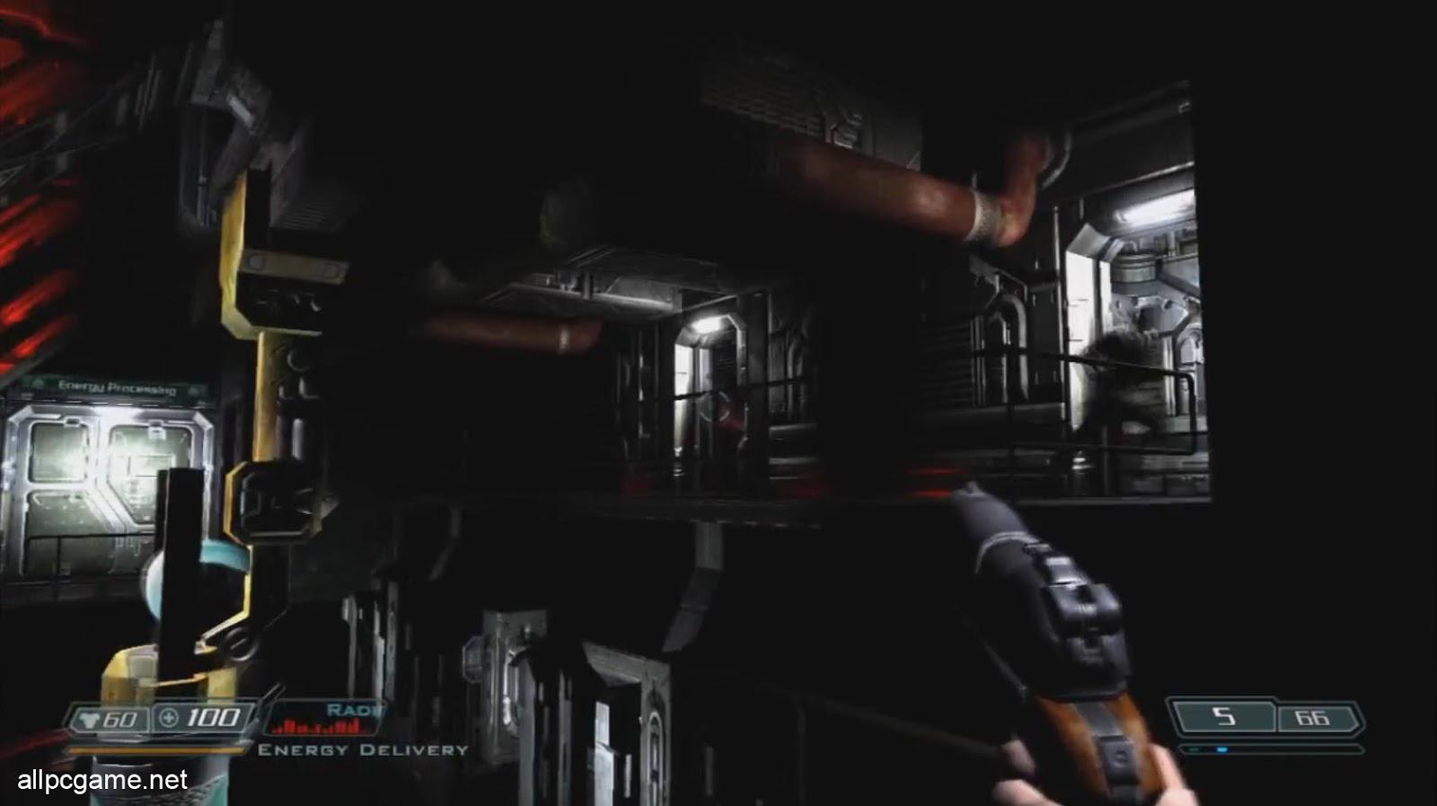Doom 3 XBox Gameplay