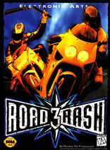 Road Rash 3 Box Art