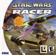 Star Wars Episode 1 Racer Box Art