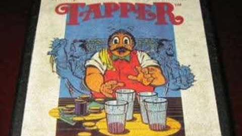 Classic Game Room - TAPPER for Atari 2600 review