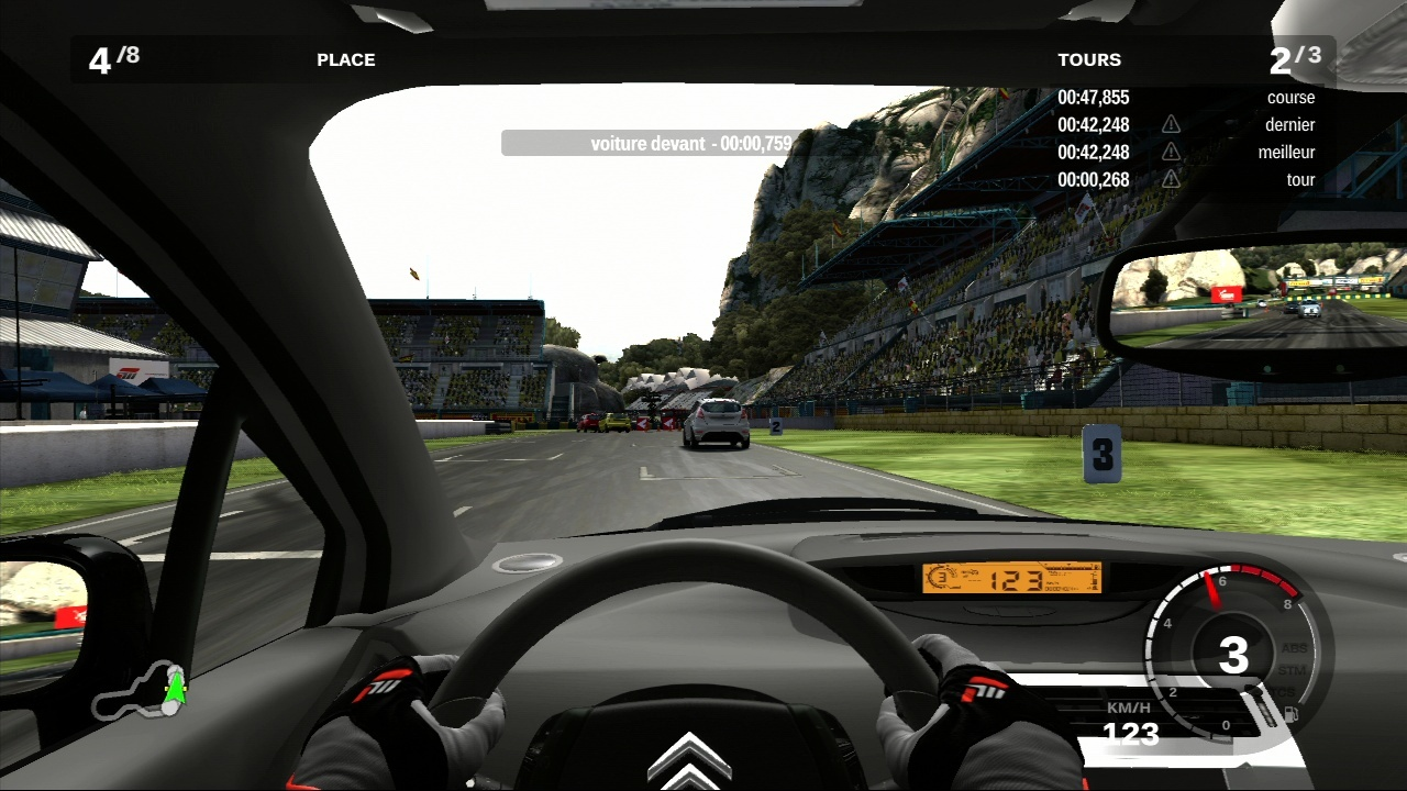 Forza Motorsport 3 Gameplay