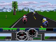Road Rash Gameplay