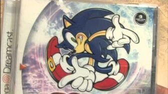 CGR Packaging Review - SONIC ADVENTURE for Sega Dreamcast