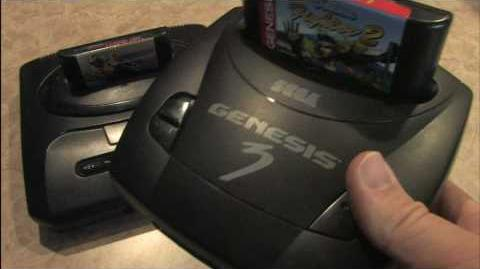 Classic Game Room - SEGA GENESIS MODEL 3 review