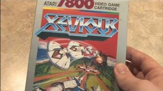 CGR Packaging Review - XEVIOUS for Atari 7800 and NES