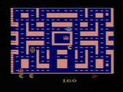 Ms. Pac-Man Atari 2600 Gameplay