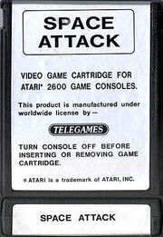 Space Attack Cart
