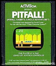 Pitfall! Atari 2600 Cart