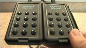 Classic Game Room HD - ATARI 2600 KEYBOARD controller review
