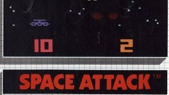 Classic Game Room HD - SPACE ATTACK for Atari 2600 review