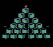 QBert Atari 2600 Gameplay