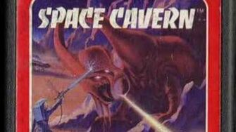 Classic Game Room - SPACE CAVERN review for Atari 2600