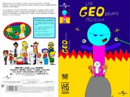 The Geo Team Movie Spanish VHS Front and Back