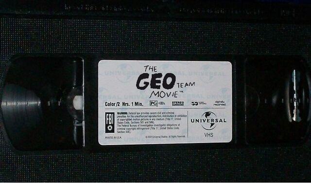File:The Geo Team Movie VHS Sticker Label.jpg