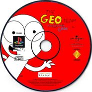 The Geo Team Game PS1 CD PAL