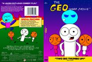 The Geo Team Movie (2001, 2012 Re-issue) DVD Front and Back Cover