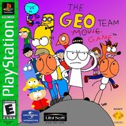 The Geo Team Game PS1 GH cover art