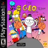 The Geo Team Game PS1 cover art