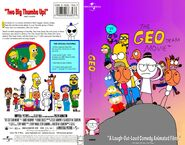 The Geo Team Movie VHS Front and Back