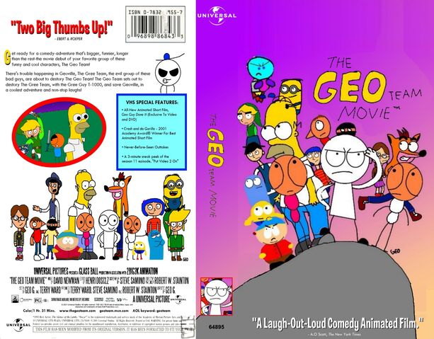 File:The Geo Team Movie VHS Front and Back.jpg