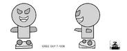 Geo Team character concept art