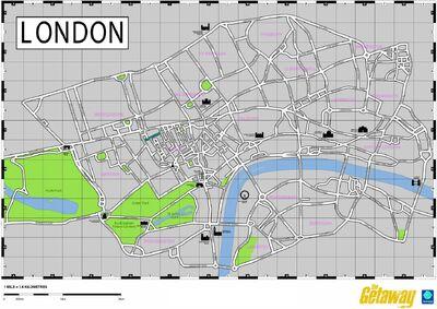 The Getaway Map