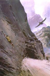 Ted Nasmith - Maedhros's Rescue from Thangorodrim