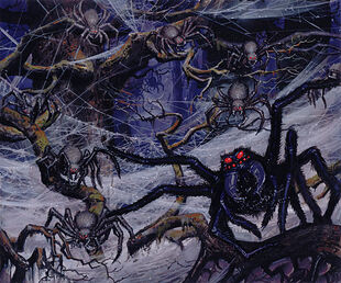 Ted Nasmith - The Spiders of Mirkwood