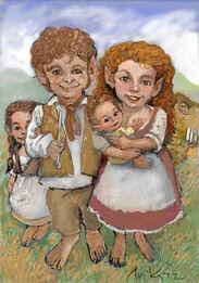 Family of hobbits