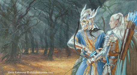 Elena Kukanova - Strongbow and Dragonhelm