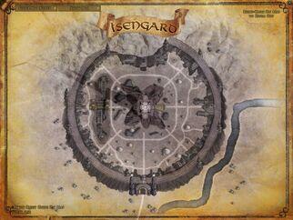Isengard map